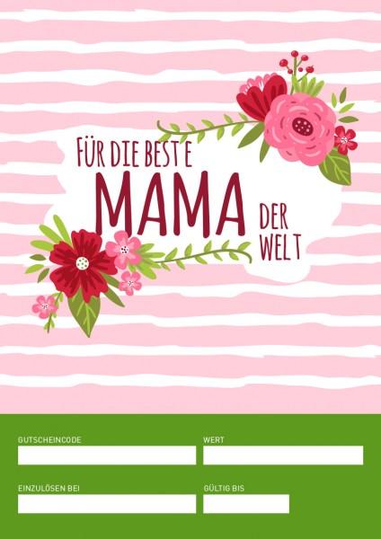 Gutschein Muttertag