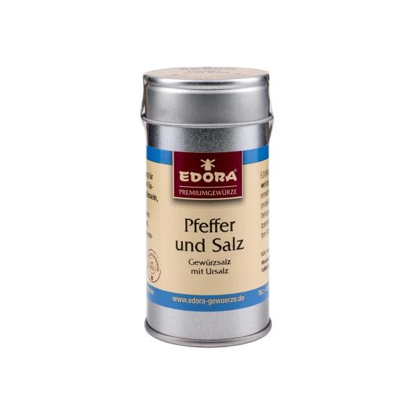 Pfeffer und Salz Gewürzsalz