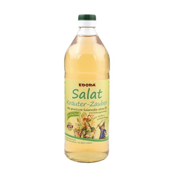 Essig Salat Kräuter Zauber - gewürzte Salatsoße ohne Öl