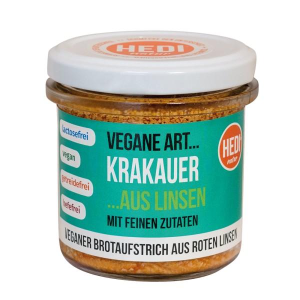 """Aufstrich - Vegane Art """"Krakauer"""" Glas 140g"""