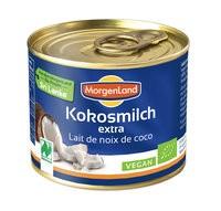 Kokosmilch, 22% Fett, Bio, 200ml