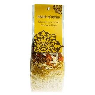 Kirsch-Curry mit Jasmin-Reis