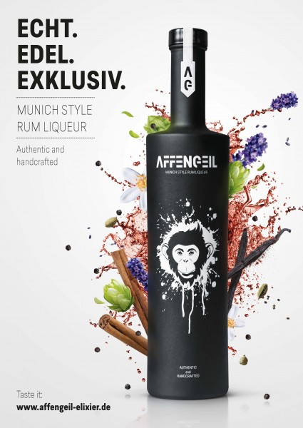 AFFENGEIL – Authentic & Handcrafted Rum Liqueur