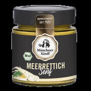 Senf Meerrettich BIOLAND, 125ml