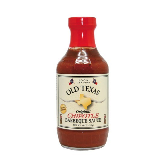 Grillsauce Old Texas Chipotle Barbeque Sauce 455ml