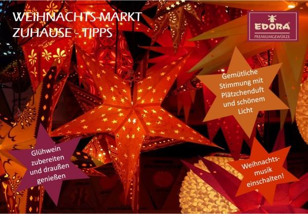 Weihnachtsmarkt-Zuhause