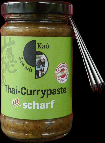 Thai-Currypaste scharf + rot, Bio