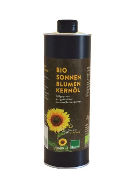 Sonnenblumenöl Bio 1000ml Dose