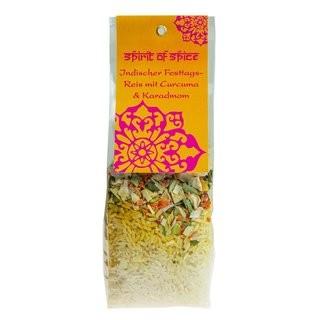 Indischer Festtags-Reis mit Curcuma & Kardamom