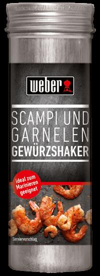 WEBER Scampi und Garnelen Gewürzshaker