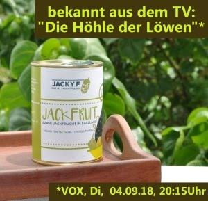 """Jacky F. Jackfrucht Bio grün 225g (für Veggy-""""Pulled Pork"""")"""
