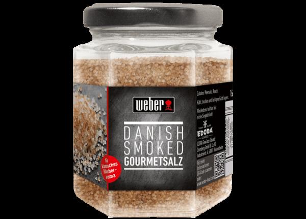 WEBER Danish smoked Salt, geräuchertes Meersalz