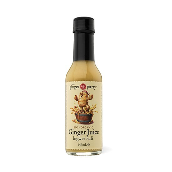 Ingwer Saft frisch gepresst (Ginger Juice) bio