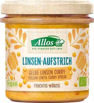 Aufstrich Allos Gelbe Linsen Curry Aufstrich