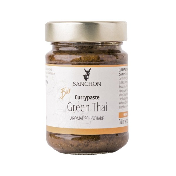Sauce Green Thai Currypaste, Bio, 190g