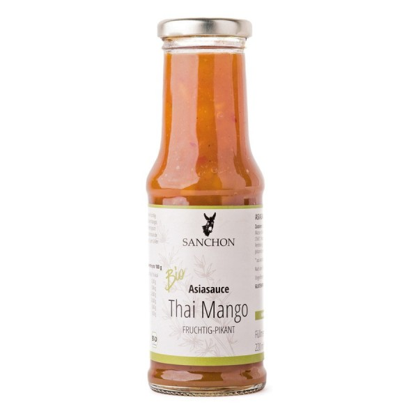 Sauce Thai Mango, Bio, 220 ml