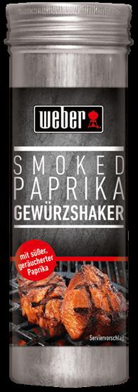 WEBER Paprika geräuchert mild/dulce Gewürzshaker