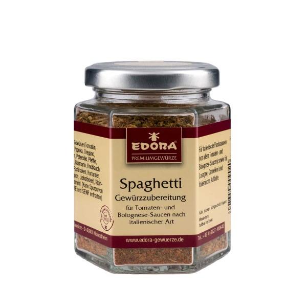 Spaghetti Gewürzzubereitung