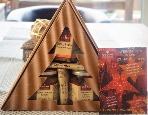 Geschenkset Weihnachtsmarkt Zuhause 5tlg